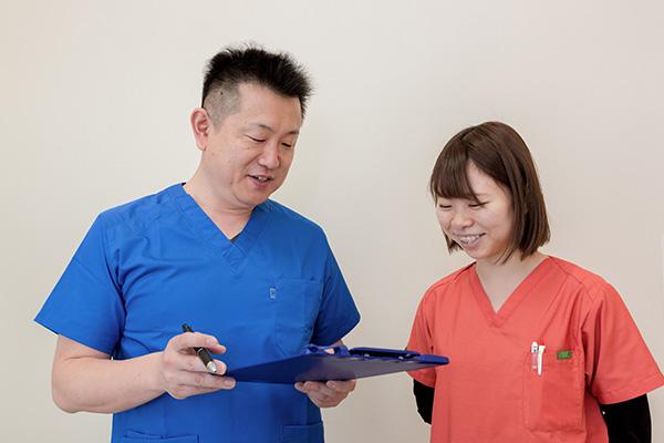 患者様・スタッフのための働ける方を求めています